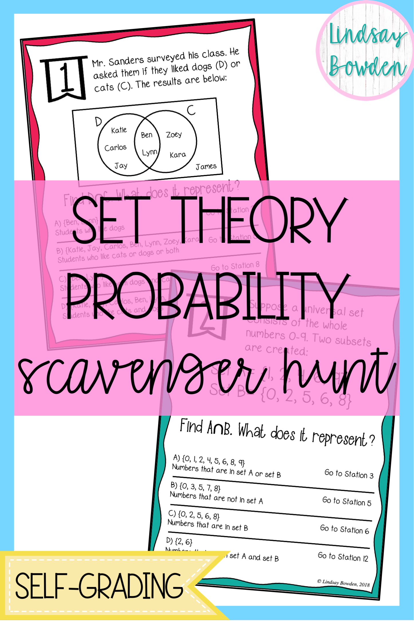 Set Theory Scavenger Hunt