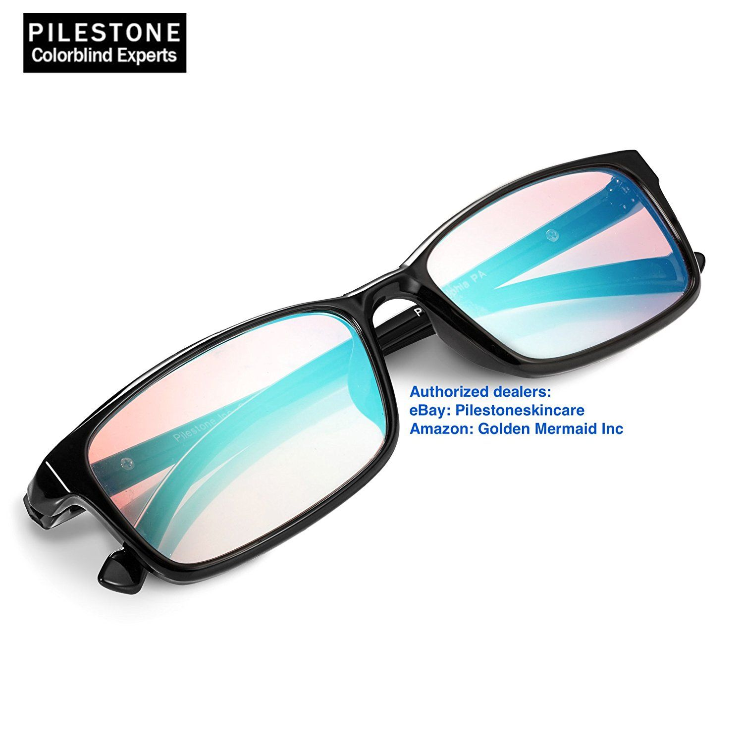 08faec09fa0 Pilestone® TP-012 Color Blind Corrective Glasses for Red-Green Blindness (Color  Blind Glasses) Corrects Red-Green blindness. Best results can be expected  ...