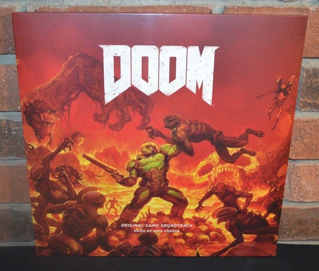 Details about DOOM - GAME SOUNDTRACK, Limited 2LP 1st Press