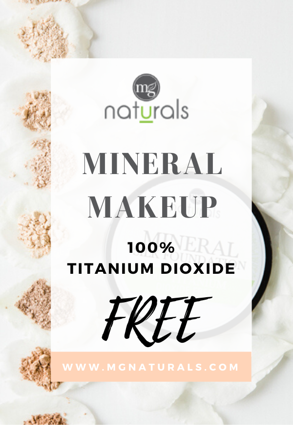No Titanium Dioxide? Natural mineral makeup