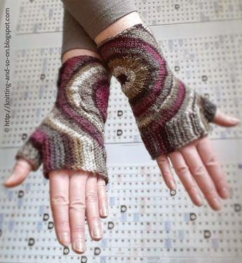 Fingerlose Handschuhe \
