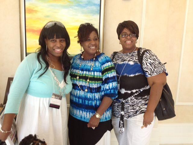 Me, mom and Pastor Brenda!!!