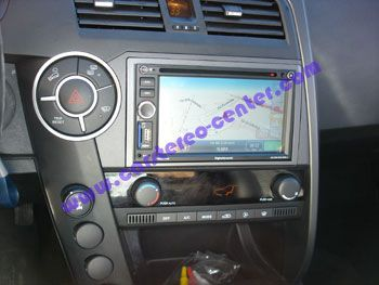 Ssangyong Kyron con navigatore Dymage NF630