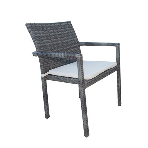 Patio Furniture Near Newport Beach: Panama Jack PJO-1501-GRY-AC-CUSH/SU-743 Newport Beach