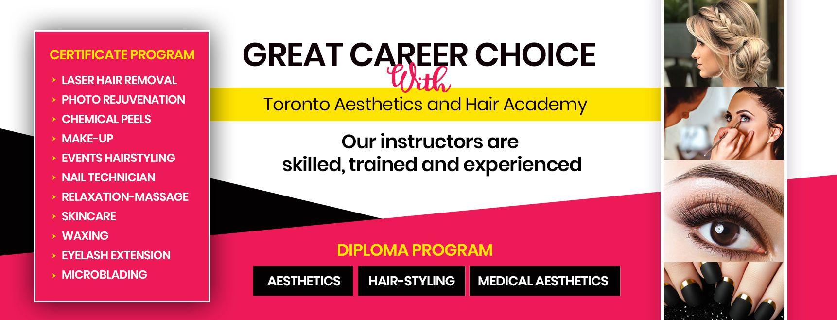 Great Career Choice with Toronto Aesthetics and Hair