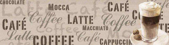 Küchenrückwände »Jule: Kaffee - Latte Macchiato« #lattemacchiato