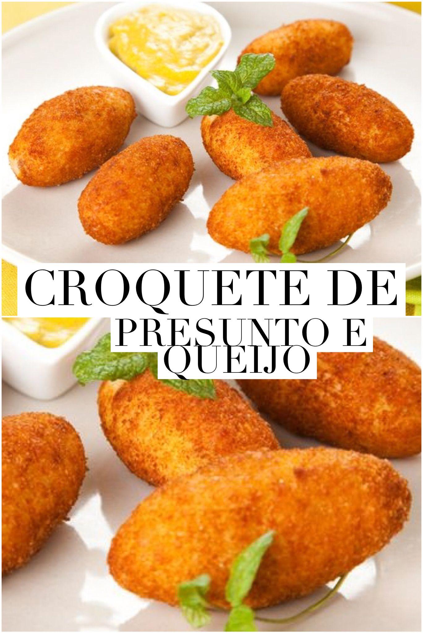 Quer aprender? Clique na imagem e veja a receita completa. #salgados #presunto #queijo #receitas #passoapasso #receitadodia