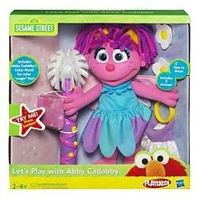 Sesame Street Playskool Let S Play With Abby Cadabby Doll