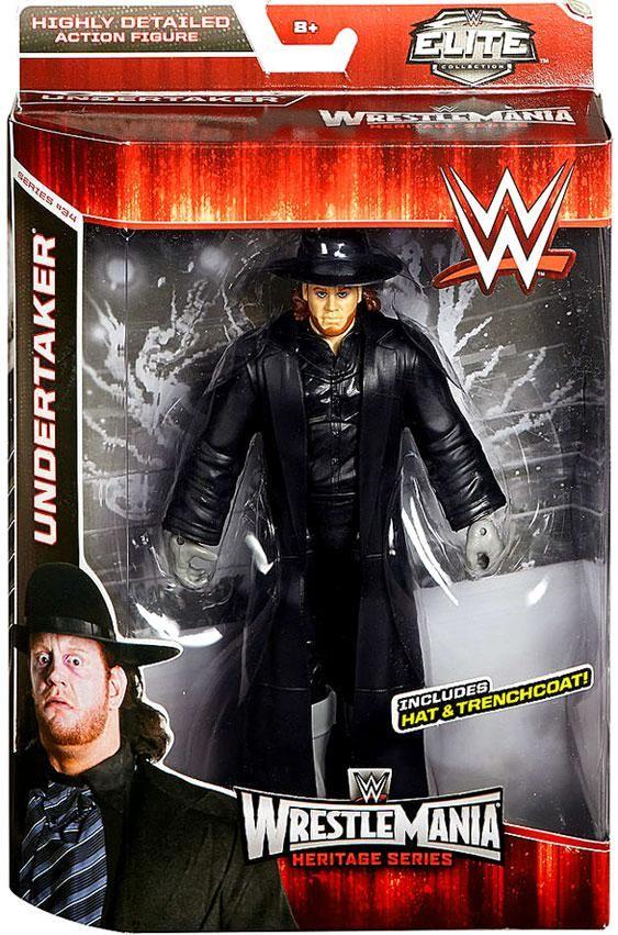 The Undertaker WWE Elite Undertaker Action Figure Mattel Toy Wrestling Boys