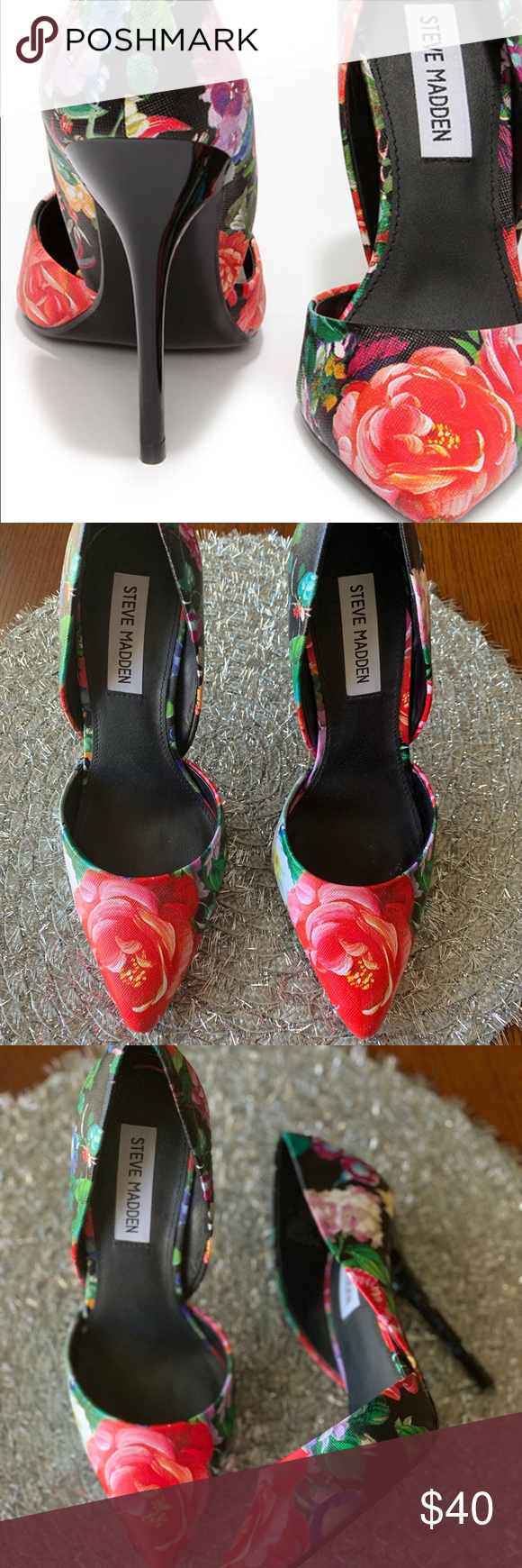 bc278f83f41c Steve Madden Varcityy Floral Multi D Orsay Pumps The Steve Madden Varcityy  Floral Multi D