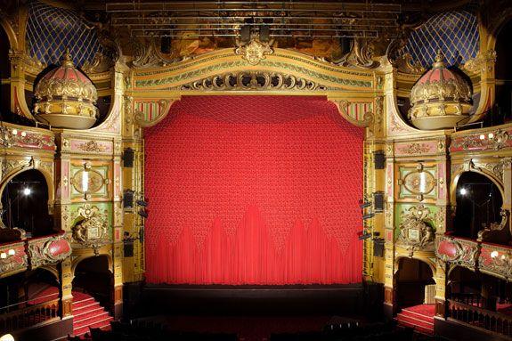 restored victorian theatre in east london