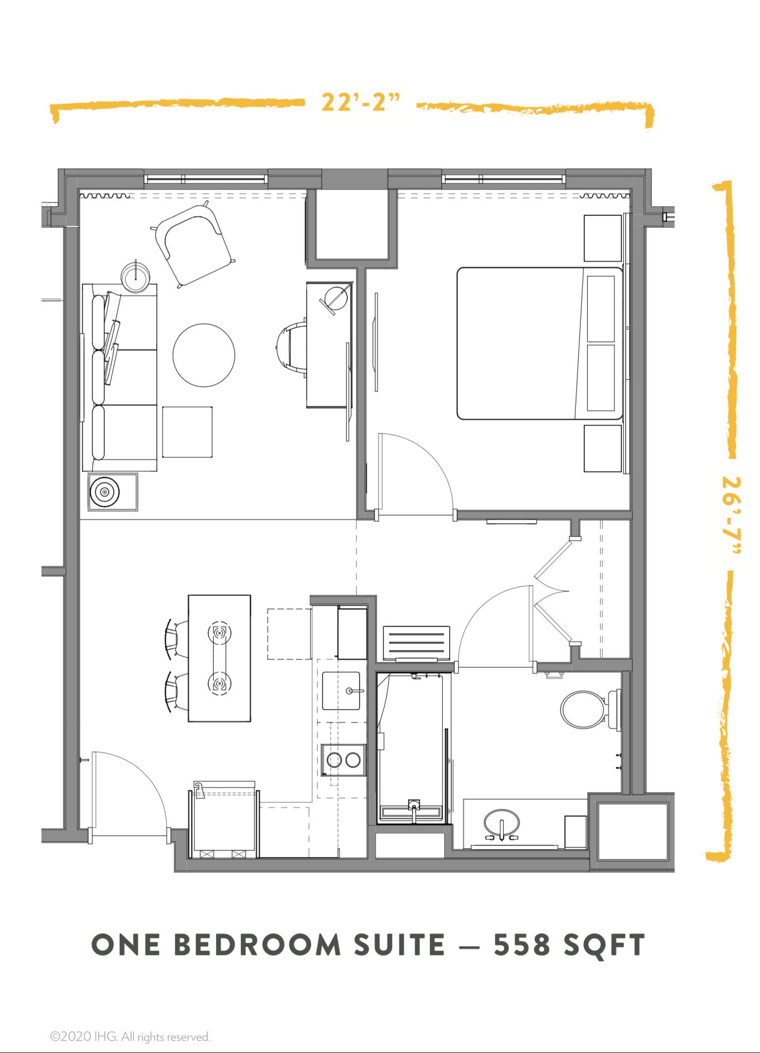 Pin By Samah Alkaff On Caravana Layout Hotel Suite Floor Plan Condo Floor Plans Hotel Suite Plan