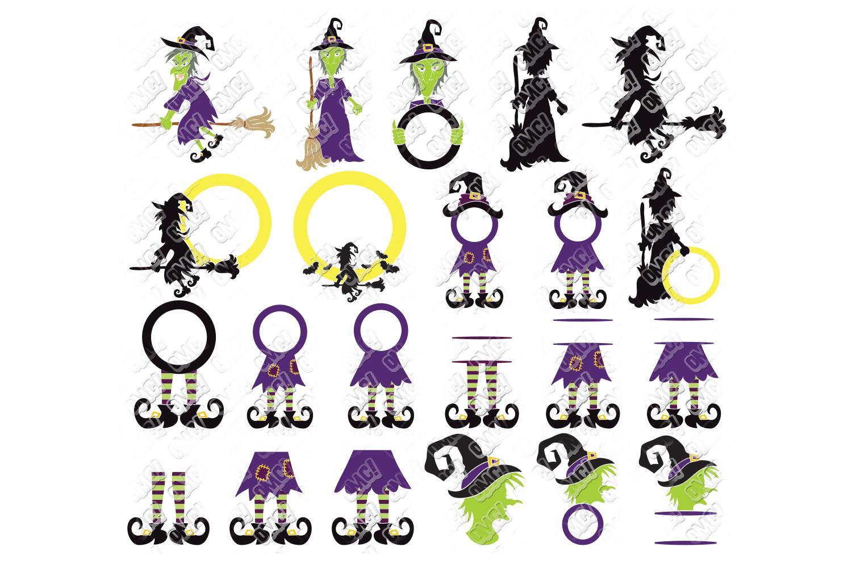 View Halloween Monogram Bundle – Svg, Dxf, Eps Cut Files Design