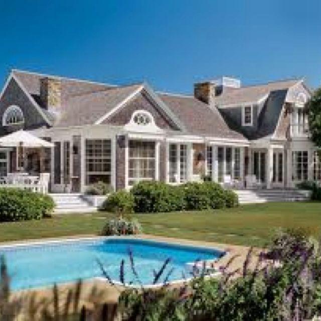 House In The Hamptons, Nice Simple Pool