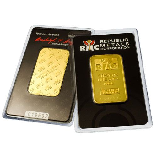 1 Oz Rmc Gold Bar Secondary Market W Assay Gold Bullion Gold Secondary Market