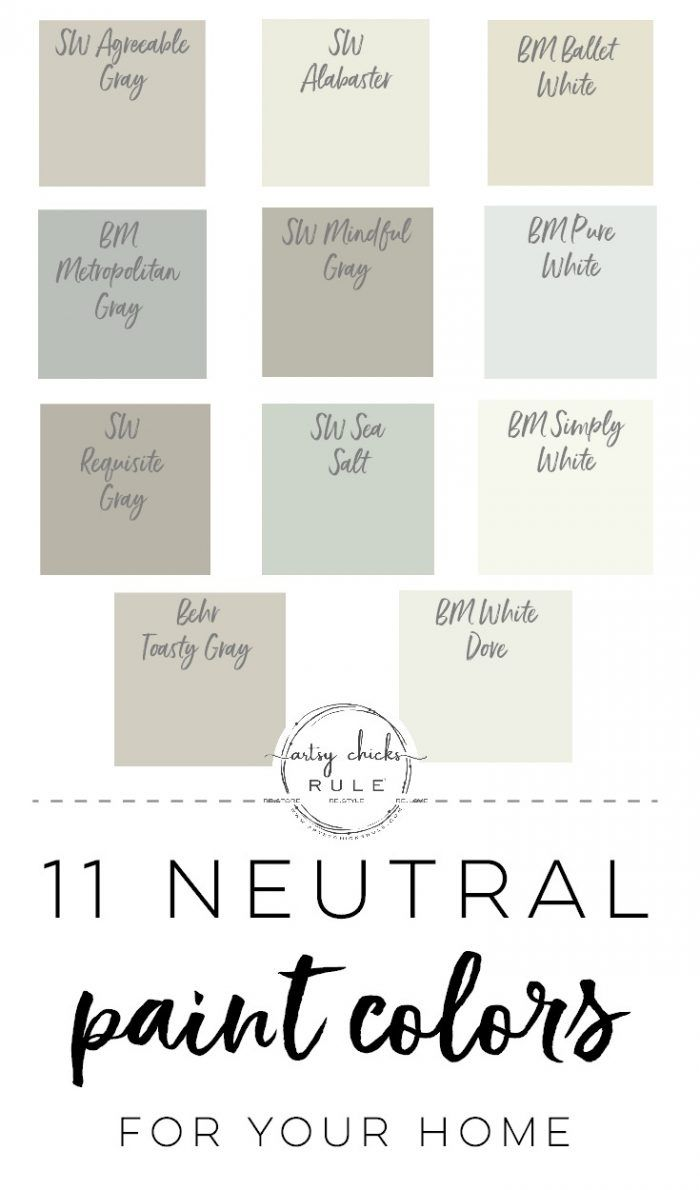 11 Neutral Paint Colors For Your Home images