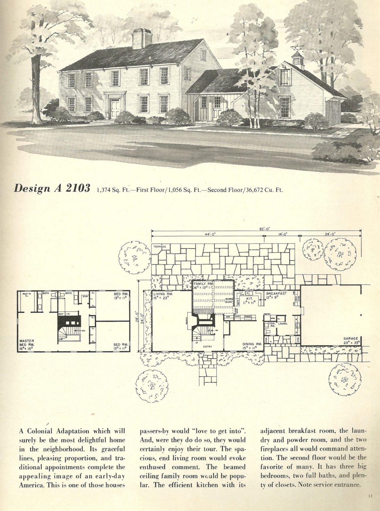 Vintage House Plans This Week We Are Looking At New England Salt Box Style Homes Click On The Photos To E Vintage House Plans Vintage House House Floor Plans