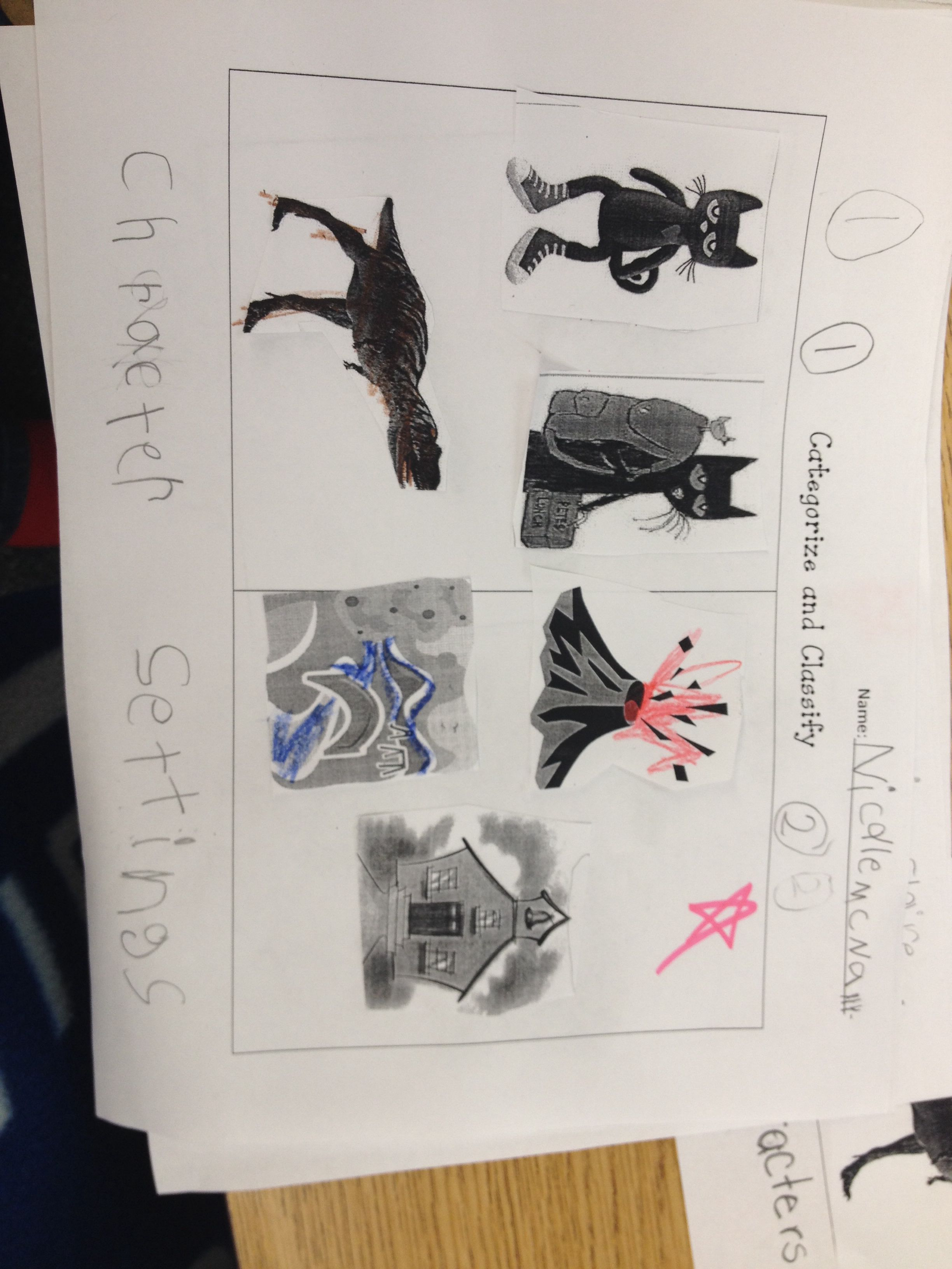 Kindergarten Lesson On Categorize And Classify After Mastering The Main Character And Setting