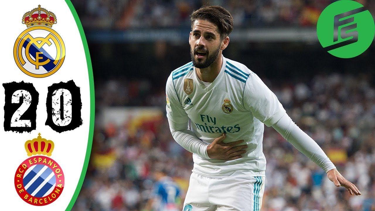 Real Madrid Vs Espanyol 2 0 Highlights Goals 01 October 2017 Real Madrid Vs Liverpool Real Madrid Real Madrid Win