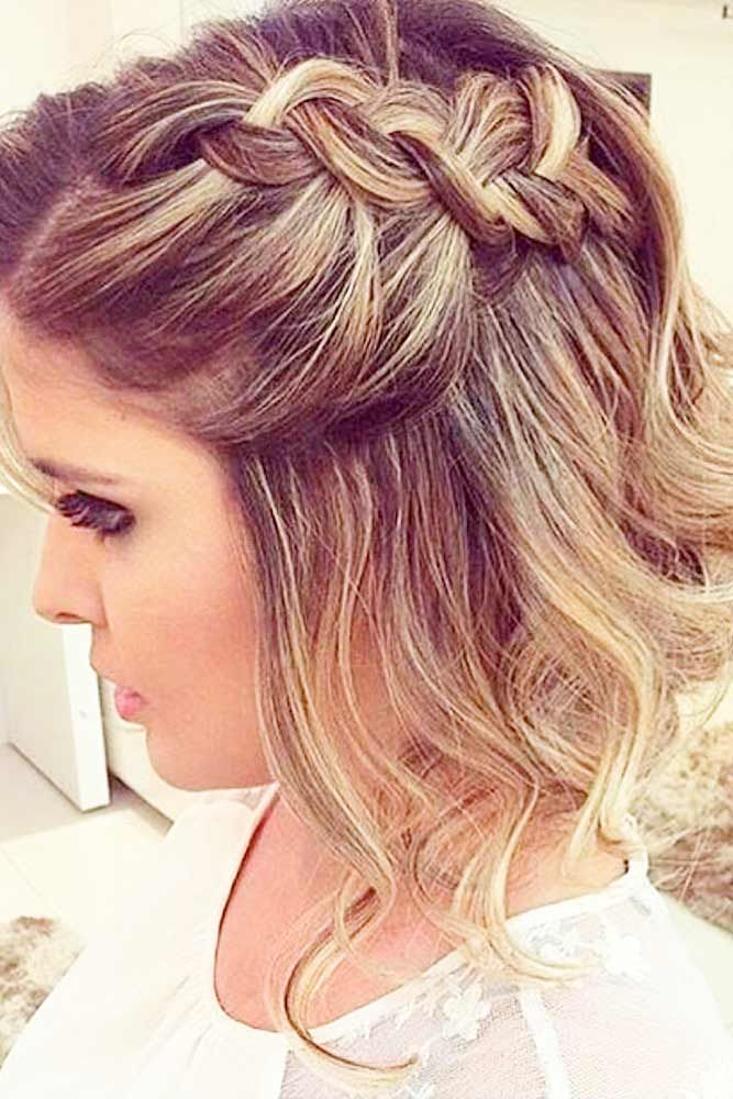 33 Amazing Prom Hairstyles For Short Hair 2021 Prom Hairstyles For Short Hair Hair Styles Prom Hairstyles For Long Hair