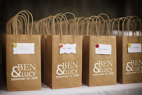 Cute Containers For A Wedding Gift Bags Journey To 2017 Idea Brown Paper Bag Door