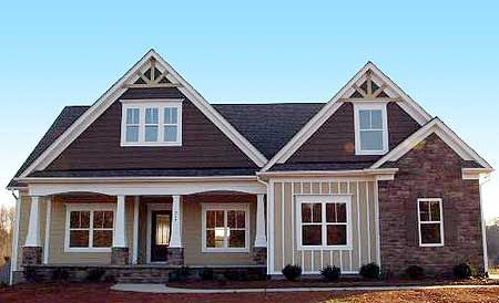 Plan 75400gb Flexible Plan With Front To Back Foyer House Plans House Exterior Craftsman House