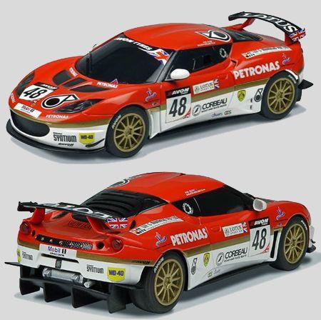 Scalextric C3379 Slot Cars Evora Cars