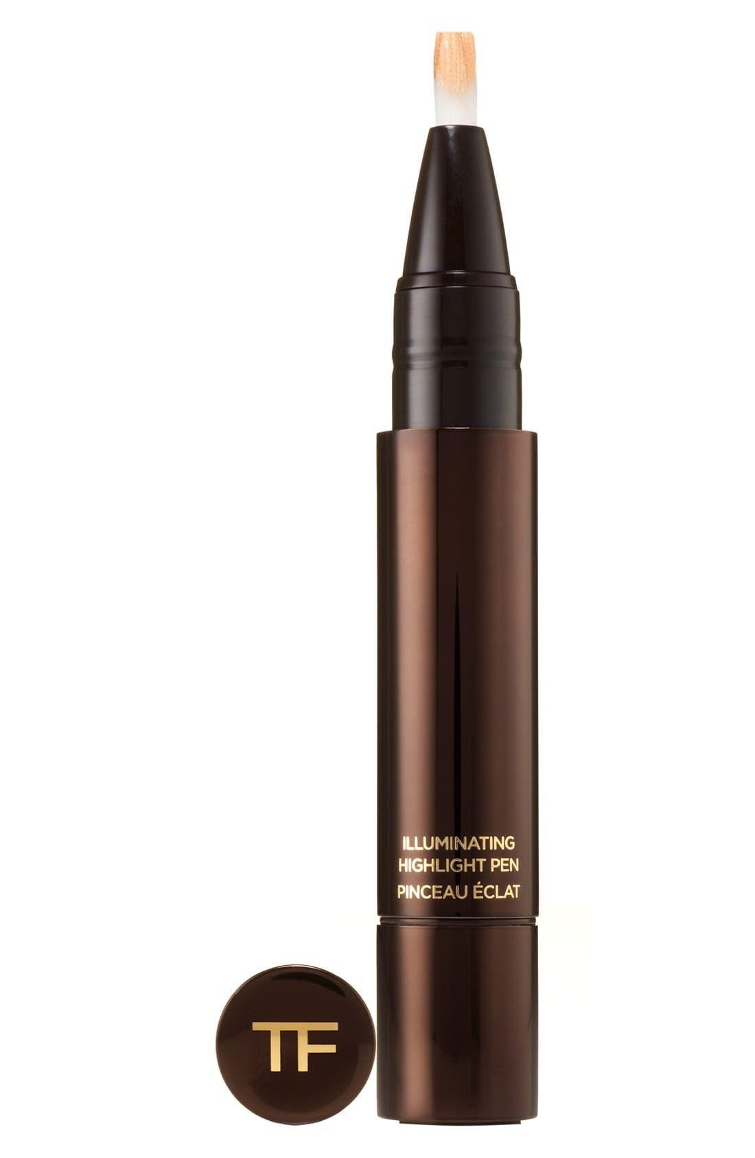 Tom Ford Illuminating Highlight Pen Dusk Bisque Best Highlighter Everyday Makeup Tutorials Translucent Powder