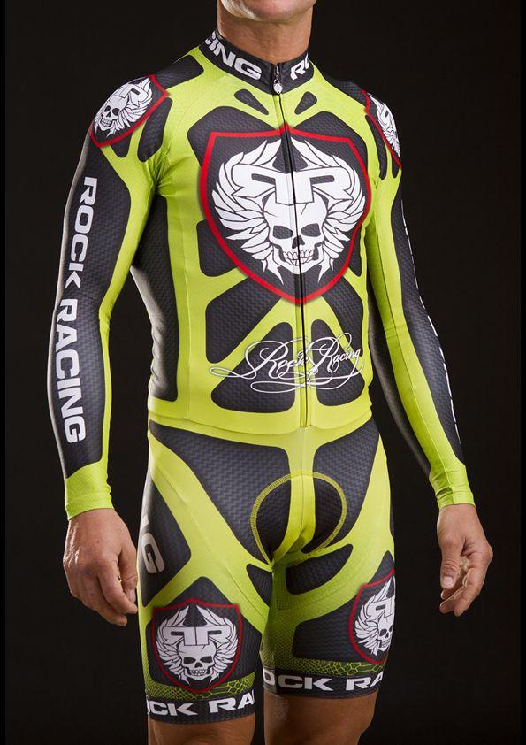 8cb37699c9 ROCK RACING Body Armor Chronosuit in Green 280  Ciclismo
