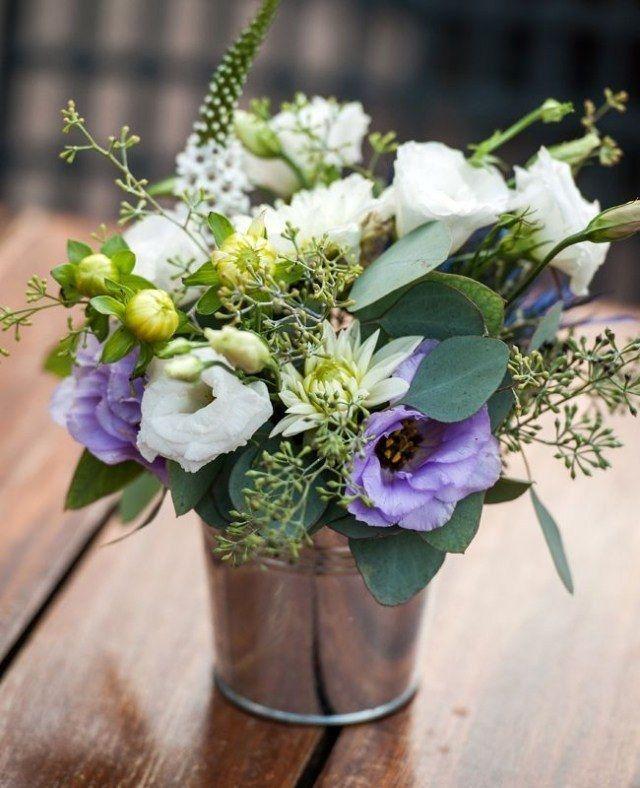 Beau Bouquet De Table Pour Mariage #4: Décoration De Mariage Pour La Table En 80 Idées Originales!