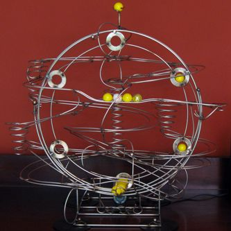 Rolling Ball Sculptures - Kinetic Art and The Movie 'Fracture'
