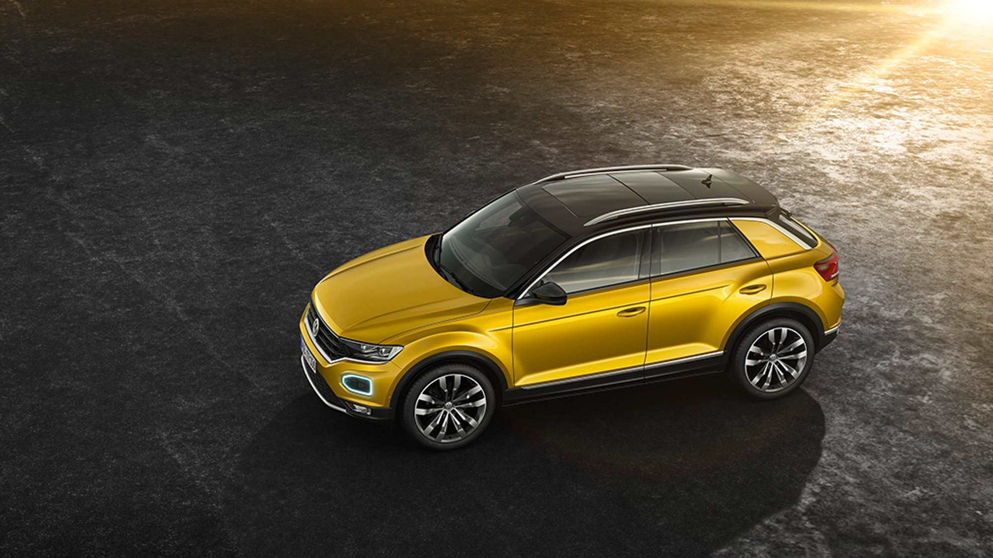 Volkswagen Shrinks And Sharpens Its Suv Lineup With All New T Roc Volkswagen Small Suv Suv