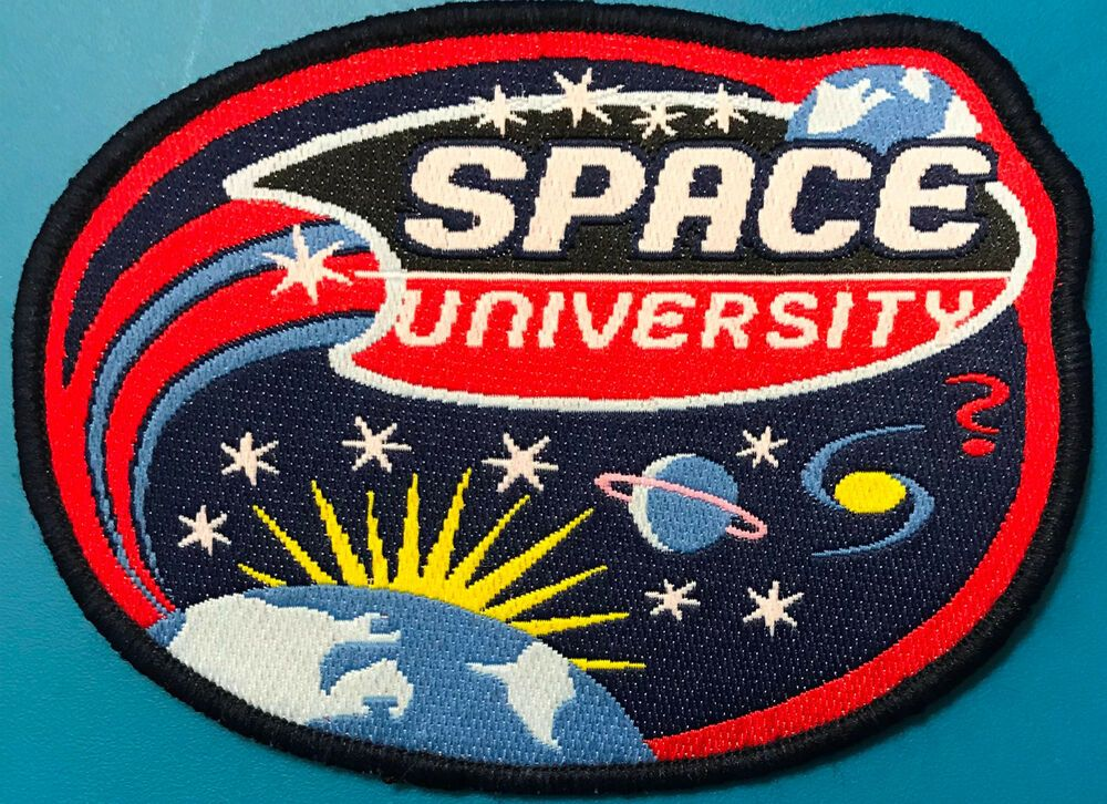 Details about Space University Patch | Nasa patch, Patches ...