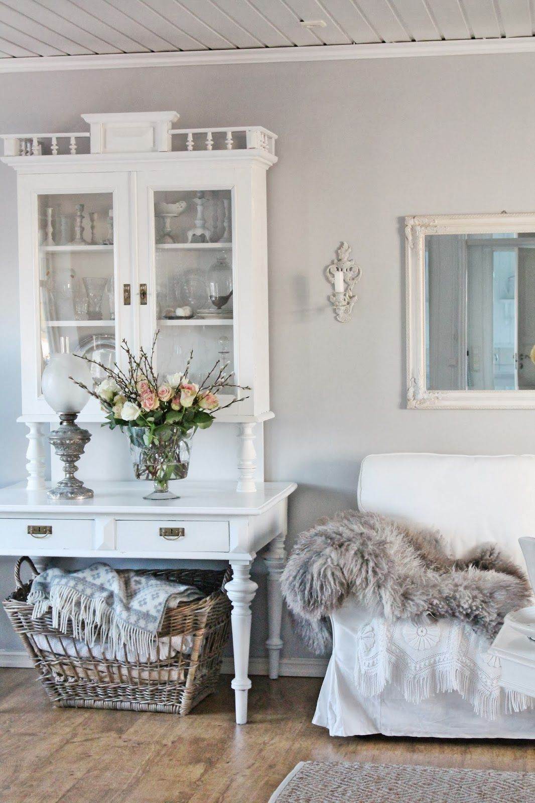 Wohnzimmer · Einrichtung · Shabby Chic. I Like Old Furniture That Has Been  Refurbished Modern And You Can Never