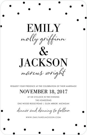 50 of the Best Wedding Invitations Part 2 Weddings - best of wedding invitation design fonts
