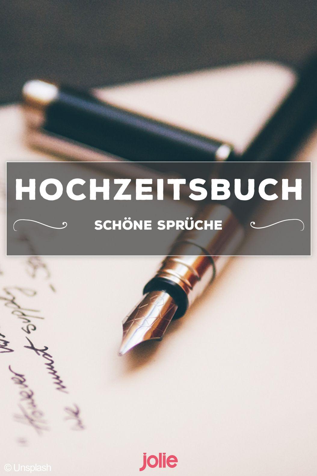 Schone Spruche Hochzeitsbuch | Schöne Sprüche Ideas