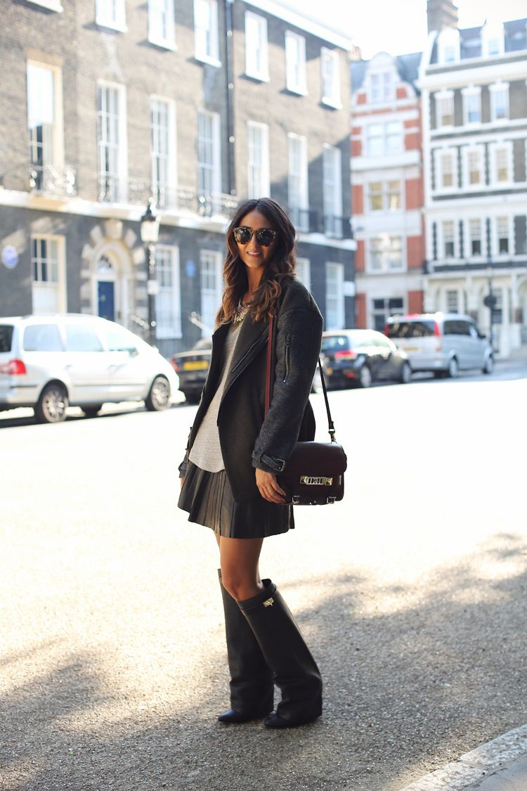 stivali givenchy outfit