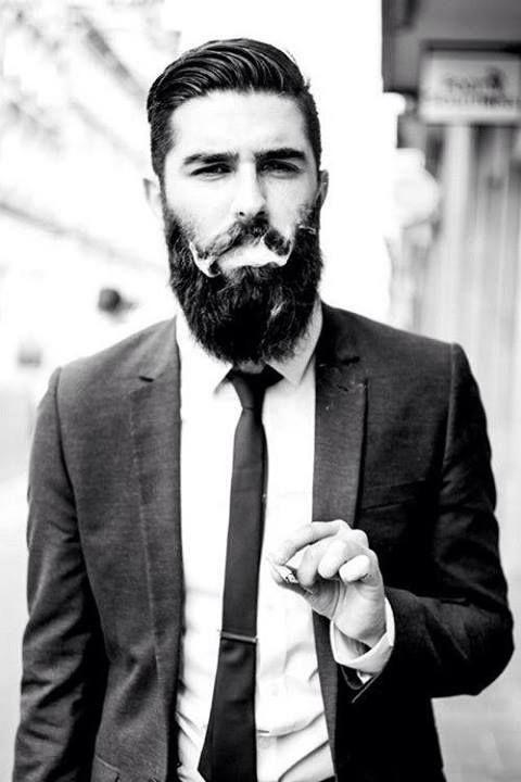 Epic handsome beards gentlemen