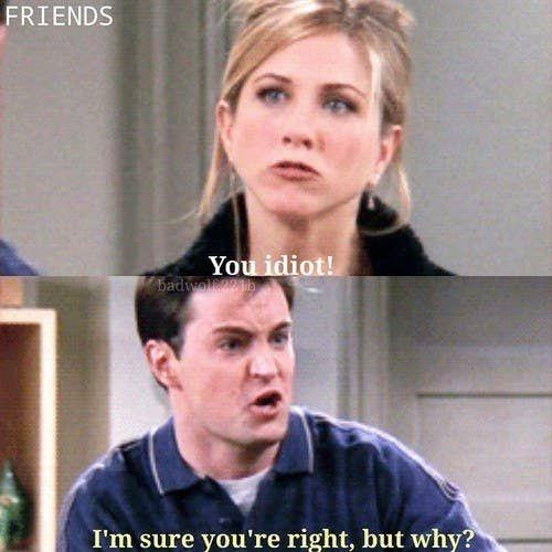 35 citations de « Friends » qui résument parfaitement votre vie