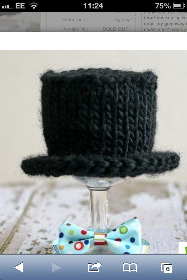 tophat #crochet #newborn #boy #photography   baby shower   Pinterest