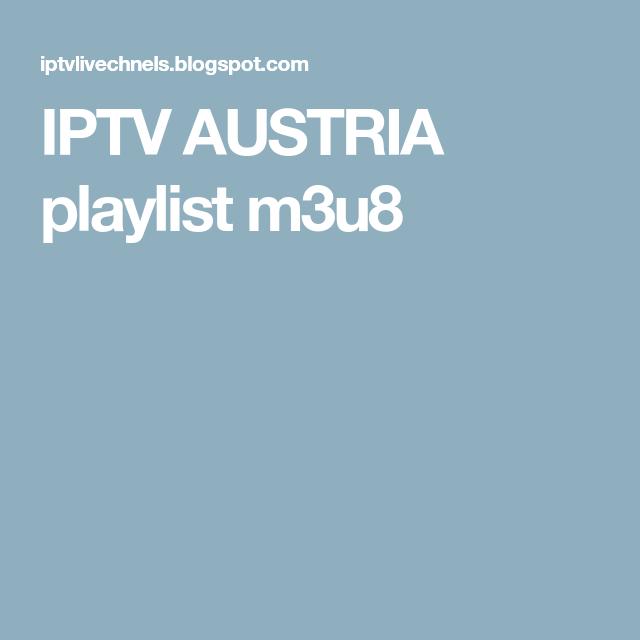 IPTV AUSTRIA Playlist M3u8