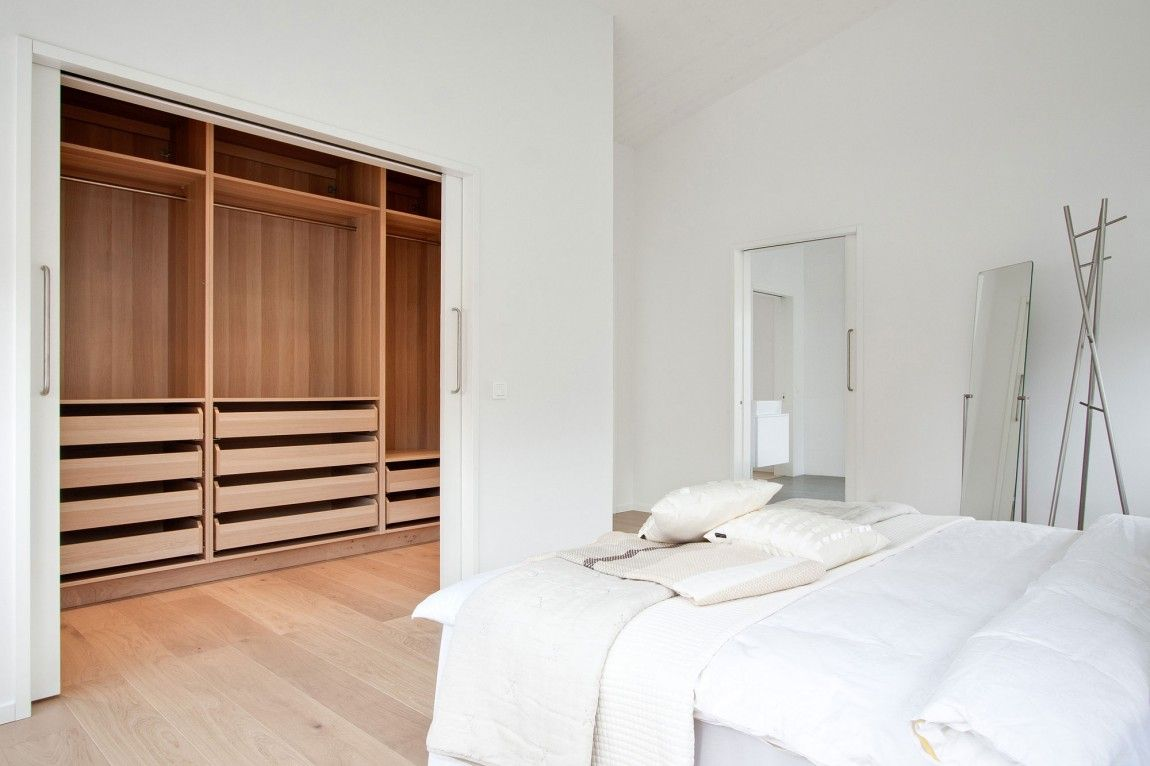 Modern Asymmetrical House. Project by Swedish