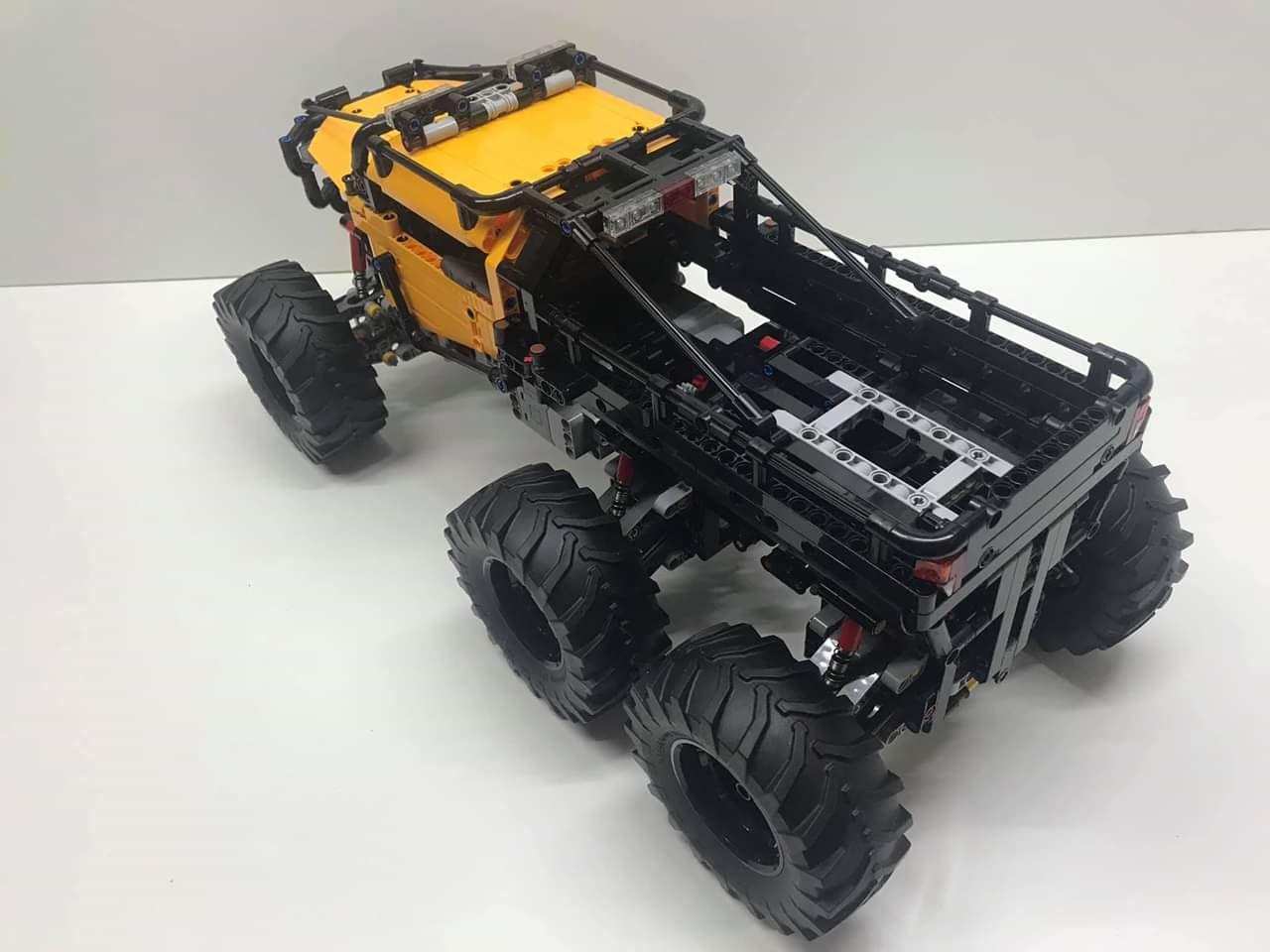 Lego Technic 42099 Moc 6x6 X Treme Off Roader Lego Technic Lego Lego Construction