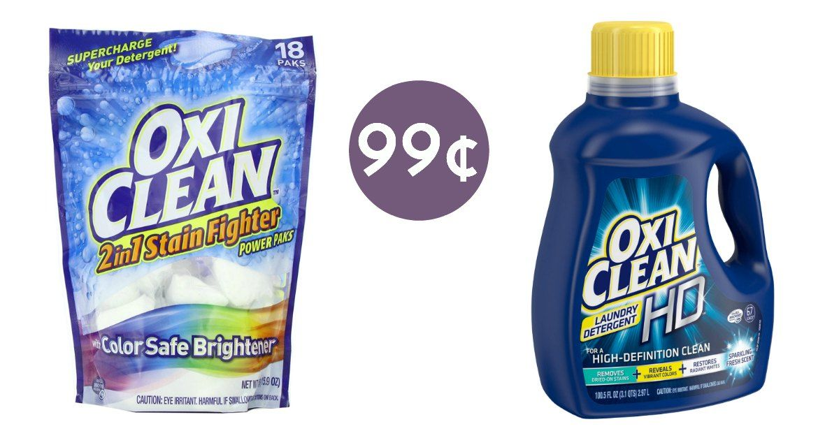 99 Oxiclean Laundry Detergent At Walgreens Reg 6 79
