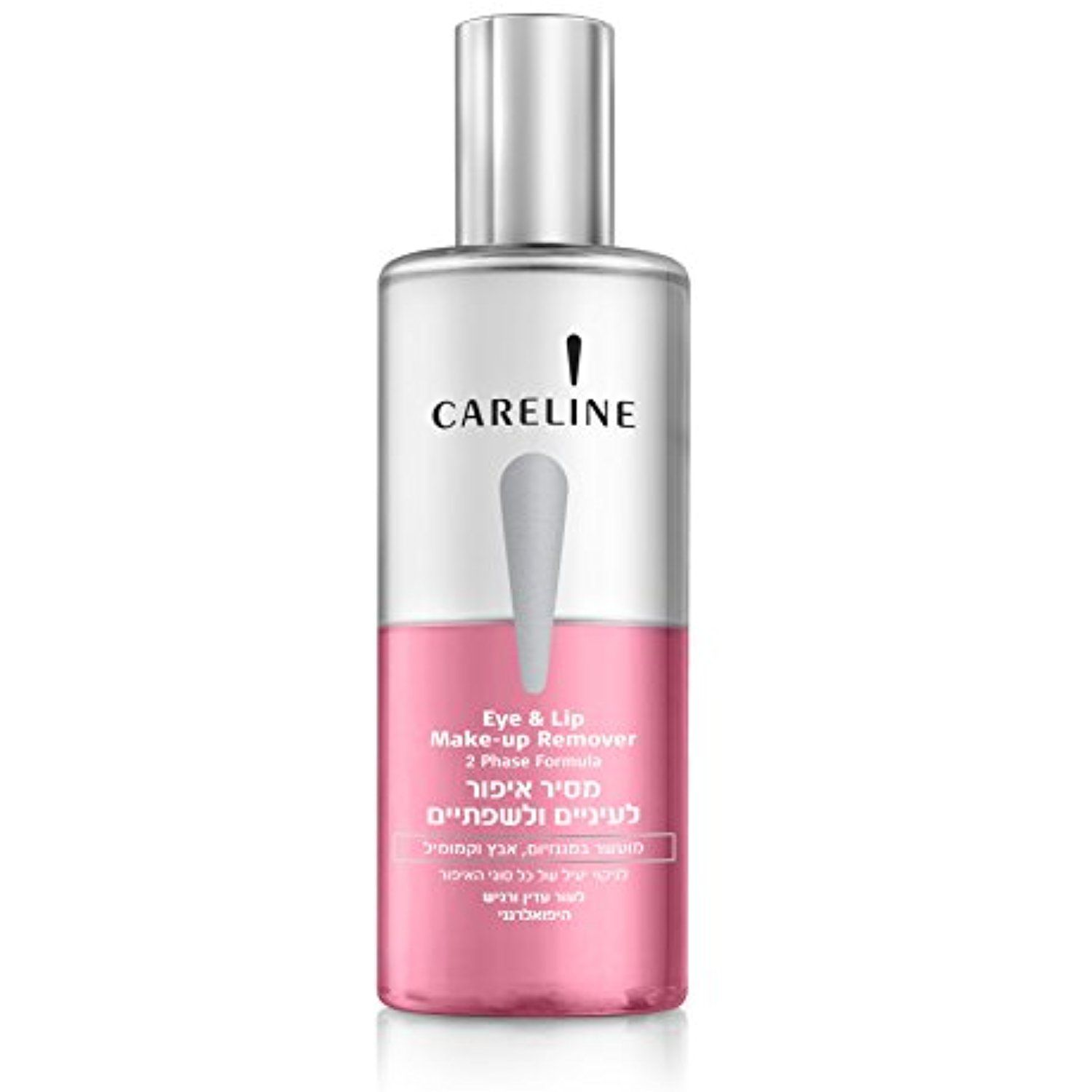 Careline Eye Makeup Remover Liquid 2 Phase Pink For Delicate Skin