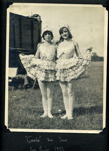 1930's Lillian Burlsem Circus Scrapbook
