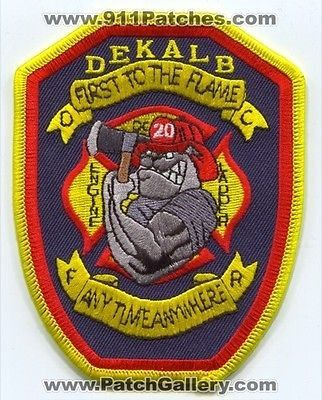 Dekalb county fire dept company 20 engine ladder truck for Dekalb tattoo company