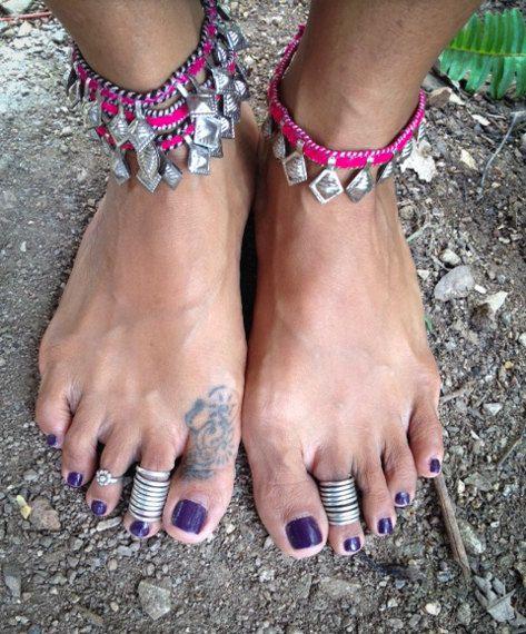 Spell Maya Vintage Bohemian Anklet. 5 Styles. by SpellMaya on Etsy