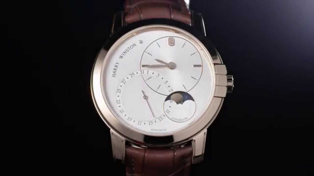 Harry Winston Midnight Date Moonphase 42mm - http://hiphopboutiques.com/blog/harry-winston-midnight-date-moonphase-42mm/