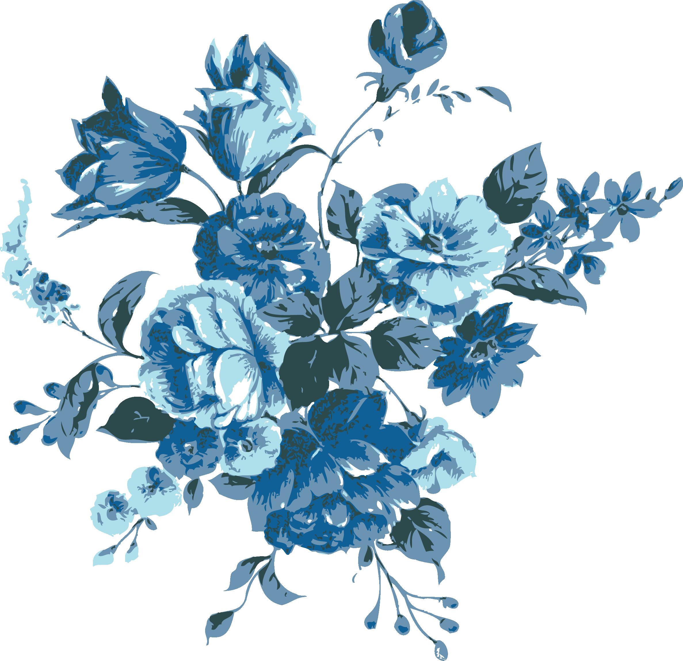 Blue Flowers Ürünler